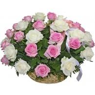 корзина с розами (12)
